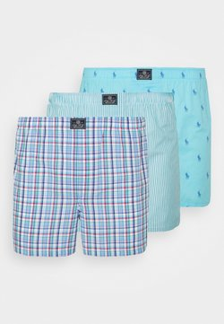 Polo Ralph Lauren - 3 PACK  - Boxershorts - turquoise