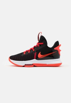Nike Performance - LEBRON WITNESS V - Zapatillas de baloncesto - black/bright crimson/university red