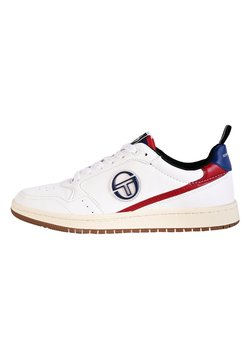 sergio tacchini - JILL - Sneaker low - wht/nav/r