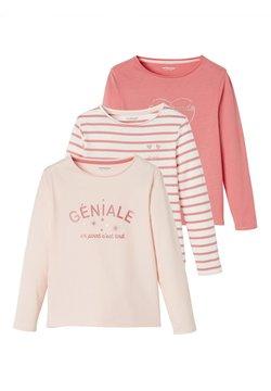Vertbaudet - 3ER-PACK  - Sweatshirt - pink