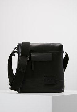 Strellson - CONNOR SHOULDERBAG - Umhängetasche - black