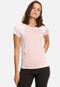 Jeff Green - ELLA - T-Shirt print - rose/white