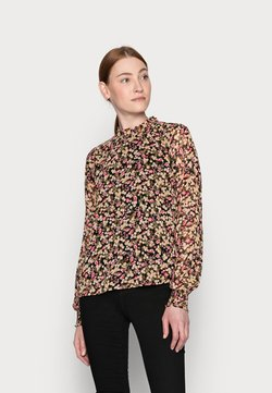 ONLY Tall - ONLINGRID - Bluse - black/rouge red