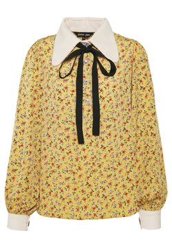 Sister Jane - PRICKLY PEAR BOW BLOUSE - Blouse - yellow