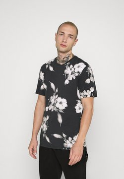 Religion - FLORAL TEE - T-shirt print - wash black