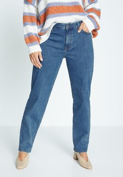 Violeta by Mango - ELY - Relaxed fit jeans - azul medio