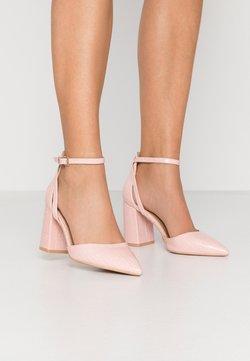 RAID Wide Fit - WIDE FIT KATY - High heels - blush
