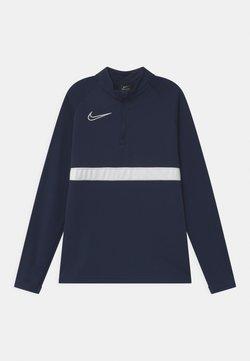 Nike Performance - DRIL UNISEX - Tekninen urheilupaita - obsidian/white