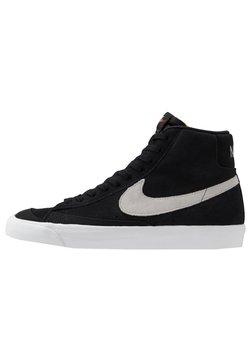 Nike Sportswear - BLAZER MID '77 - Sneakersy wysokie - black/photon dust