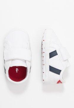 Lacoste - SIDELINE CUB - Cadeau de naissance - white/navy/red