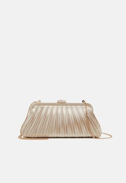 Forever New - LISA PLEATED FRAME POUCH - Clutch - champagne