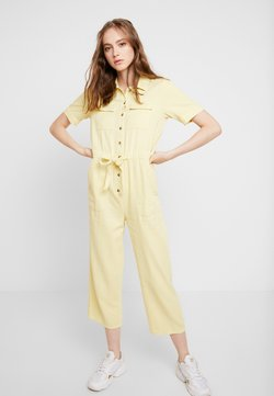 Miss Selfridge - UTILITY CULOTTE - Combinaison - lemon