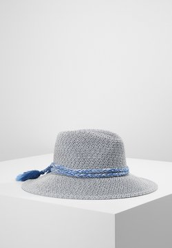 Seafolly - SHADY LADY - COLLAPSIBLE FEDORA - Hut - indigo