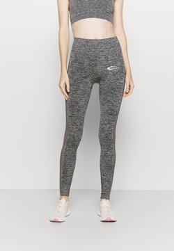 Smilodox - SEAMLESS LEGGINGS CATCH - Tights - anthrazit