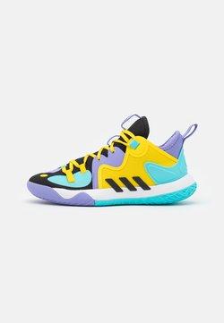 adidas Performance - HARDEN STEPBACK 2 BASKETBALL BOUNCE SHOES UNISEX - Chaussures de basket - core black/team yellow