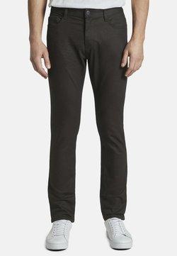 TOM TAILOR - JEANSHOSEN JOSH REGULAR SLIM JEANS - Jeans Slim Fit -  black denim