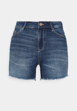 ONLY - ONLBLUSH  LIFE MID - Jeansshort - dark blue denim