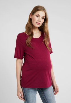 Esprit Maternity - T-shirt basic - plum red