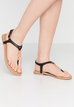 New Look Wide Fit - WIDE FIT HOXTON - Teensandalen - black