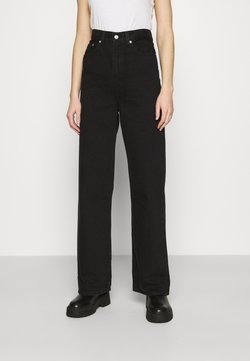 Levi's® - HIGH LOOSE - Flared jeans - black denim