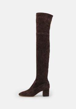 Alberta Ferretti - BOOT - Over-the-knee boots - brown