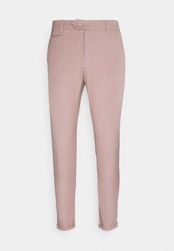 Les Deux - COMO LIGHT SUIT PANTS - Anzughose - dusty rose