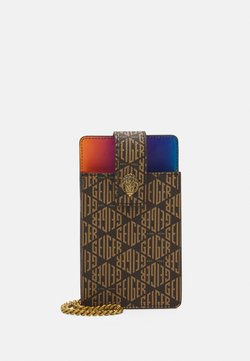 Kurt Geiger London - RICHMOND PHONE HOLDER - Kännykkäpussi - mid brown