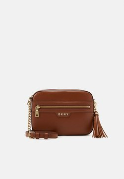 DKNY - POLLY CAMERA BAG SUTTON - Umhängetasche - caramel