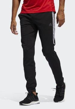 adidas Performance - RUN IT 3-STRIPES ASTRO JOGGERS - Pantalones deportivos - black