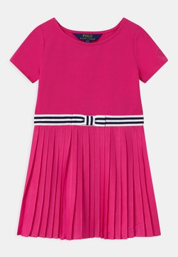 Polo Ralph Lauren - PLEATED DRESSES - Jerseykleid - accent pink