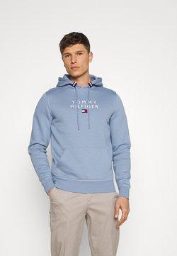 Tommy Hilfiger - STACKED FLAG HOODY - Sweatshirt - colorado indigo