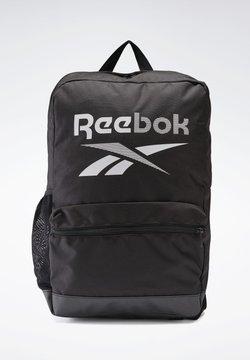 Reebok - TRAINING ESSENTIALS BACKPACK MEDIUM - Reppu - black