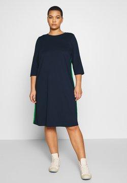 MY TRUE ME TOM TAILOR - SHIFT DRESS - Jerseykleid - real navy blue