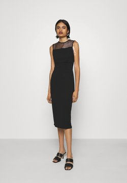 WAL G. - LAURYN MIDI DRESS - Cocktail dress / Party dress - black