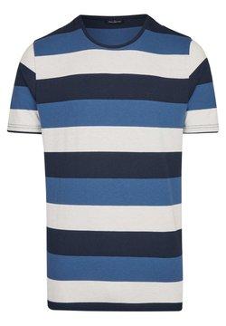 Daniel Hechter - MIT RINGEL-MUSTER - T-Shirt print - dark blue