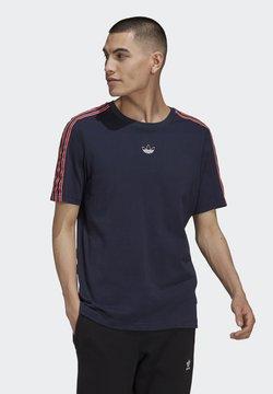 adidas Originals - SPORT 3 STRIPE COLLECTION ORIGINALS - T-Shirt print - legend ink