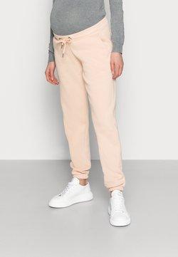 MAMALICIOUS - MLCHRISTEL PANT - Jogginghose - peach pink