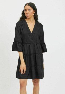 Vila - 3/4 SLEEVE - Day dress - black