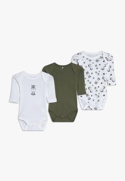 Name it - NBMBODY ZEBRA 3 PACK - Body - loden green