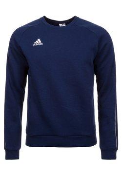 adidas Performance - CORE ELEVEN FOOTBALL LONG SLEEVE PULLOVER - Bluza - dark blue