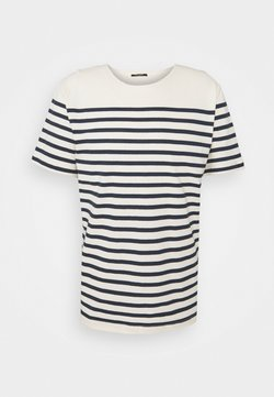 Bruuns Bazaar - T-Shirt print - blue/white