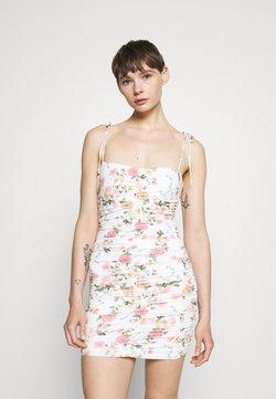 Bec & Bridge - ISLA PRINT MINI DRESS - Freizeitkleid - white/pink
