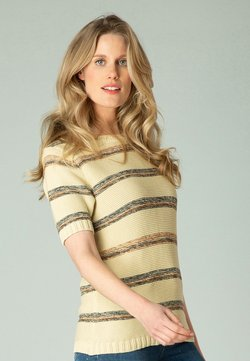 yesta - GABRIELLA - T-Shirt print - cream/multi