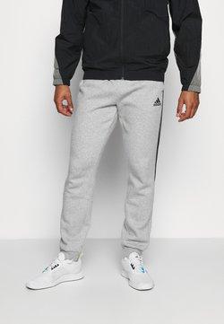 adidas Performance - CUT - Jogginghose - medium grey heather/black