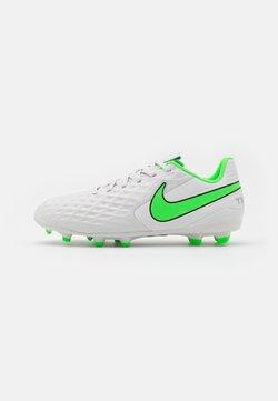 Nike Performance - JR TIEMPO LEGEND 8 ACADEMY MG UNISEX - Tekonurmikengät - platinum tint/rage green