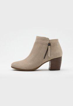 Geox - NEW LUCINDA - Korte laarzen - light taupe