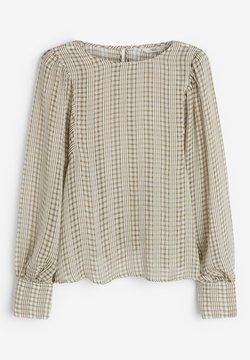 Next - Langarmshirt - khaki