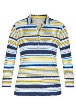 Rabe 1920 - MIT GESTREIFTEM MUSTER - Poloshirt - dunkelblau