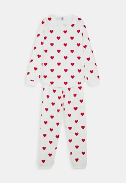 Petit Bateau - WINTERIZED LINDSAY SET - Pyjamas - marshmallow/terkuit