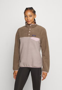 Patagonia - SYNCH SNAP - Fleecepullover - furry taupe